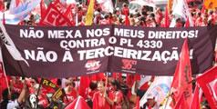 Brasilien: Protesttag gegen Outsourcing