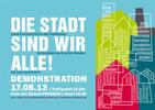"""Potsdam 17.8. Demo """"DIE STADT SIND WIR ALLE!"""""""