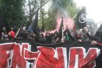 Großbritannien: Hundreds of anti-fascists arrested at EDL march