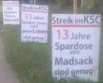 Hilfe für Streikende der Firma KSC GmbH & Co.KG erbeten