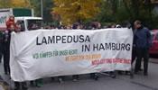 Lampedusa in Hamburg – Wir bleiben hier!