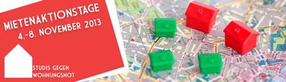 Studis gegen Wohnungsnot