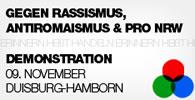 Antirassistische Demonstration in Duisburg, 9. November: Erinnern heißt handeln