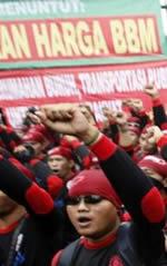 Landesweiter Streik in Indonesien 2013: Für höhere Mindestlöhne, gegen Zeitarbeit