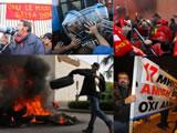 Arbeiterrevolte gegen die Lohnarbeit