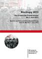 Buch vom Grundrechtekomitee: Blockupy 2013 - Der Frankfurter Polizei-Kessel am 1. Juni 2013