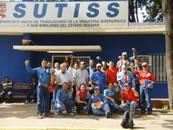 Sutiss (Sindicato Único de Trabajadores de la Industrias Siderúrgica y Similares beim staatlichen venezuelanischen Stahlbetrieb Sidor)