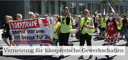 VKG - Vernetzung für kämpferische Gewerkschaften