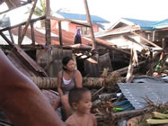 Philippinen nach dem Sturm Yolanda