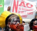 Widerstand gegen das Projekt Belo Monte in Brasilien