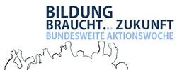 Bundesweite Aktionstage: Bildung braucht Zukunft!