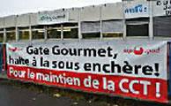 Gate Gourmet am Genfer Flughafen