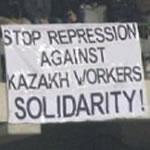 Solidarität mit den Ölarbeitern