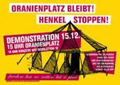 Wir sind alle Oranienplatz + Wir bleiben Alle! Demonstration am So 15.12.