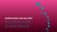 Videoclip: Bildung ohne Bundeswehr von und bei NoWar Berlin