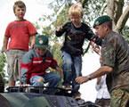 Bundeswehr mit U18-Auswahl