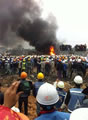 Workers building Samsung factory riot in Vietnam
