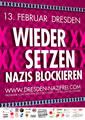 Dresden: Gegen Opfermythos und Naziaufmarsch am 13. Februar 2014