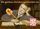Die goldene Gefahrengebietsbürste für die Hamburger Morgenpost
