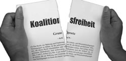 26. Januar 2014 in Kassel: »Hände weg vom Streikrecht - für volle gewerkschaftliche Aktionsfreiheit«