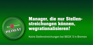becks manager wegrationalisiseren 300
