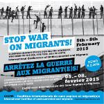 Festung EU: stop war against migrants
