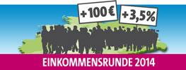 Tarifrunde 2014: Öffentlicher Dienst Bund und Kommunen