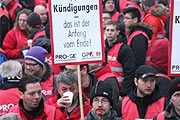 Streik bei KBA Mödling