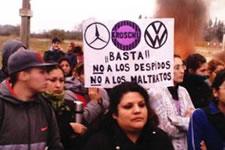 Arbeiter beim deutschen Autozulieferer Kromberg und Schubert in Argentinien kämpfen gegen Entlassungen und miserable Arbeitsbedingungen