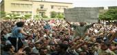 Streikbewegung beim staatlichen Mahalla Textilkonzern