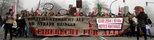 Refugee Schul- und Unistreik am 13. Februar in Berlin