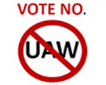 vote no uaw vw chattanooga
