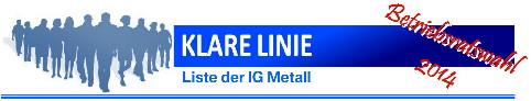 "IG Metall-Liste ""Klare Linie"" im Berliner BMW-Werk"
