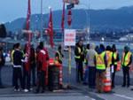 Streik der Hafentrucker Vancouver