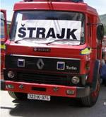 bosnien herzegowina streik
