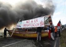 Chile: Der Kampf gegen die Privatisierung der Fische, Bild von Frederico Füllgraf