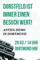 antifaschistische Demonstration am 29.03.2014 in Dortmund