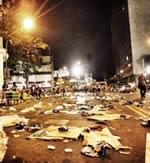 Streik der Straßenreinigung von Rio de Janeiro