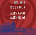 1. Mai 2014 gegen Nazis in Rostock