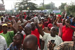demonstration benin