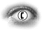 Vorratsdatenspeicherung: Überwachungsauge vom AK Vorrat