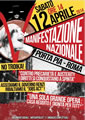 Landesweite Demonstration im Zeichen einer neuen Welle von Hausbesetzungen am 12. April in Rom