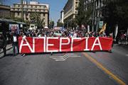 Griechenland: Erster Generalstreik 2014