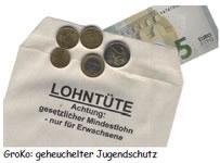 Mindestlohn: Statt 8,50-Euro-Mogelpackung zehn Euro brutto lohnsteuerfrei ohne Ausnahmen!