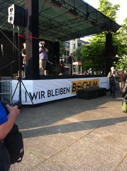 """Wir bleiben Opel"" - Demo in Bochum (2012)"