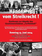 Konferenz «Erneuerung durch Streik II»