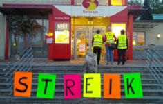 Streik bei Autogrill