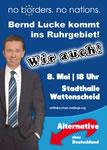 Am 8. Mai nach Wattenscheid - Nationalismus ist keine Alternative!