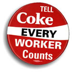 coca cola every worker counts