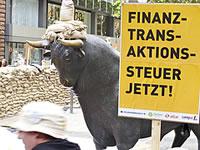 Finanztransaktionssteuer jetzt!